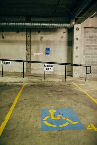 Handicap Garage Parking