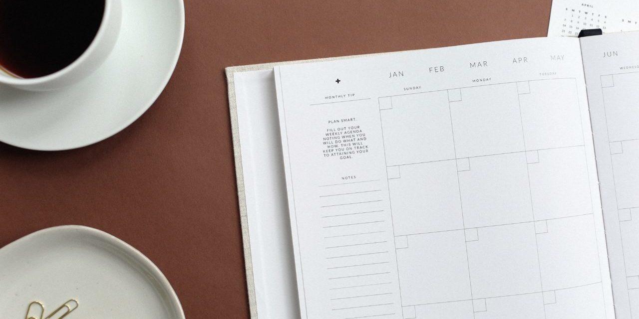 Journal Planner Teacup