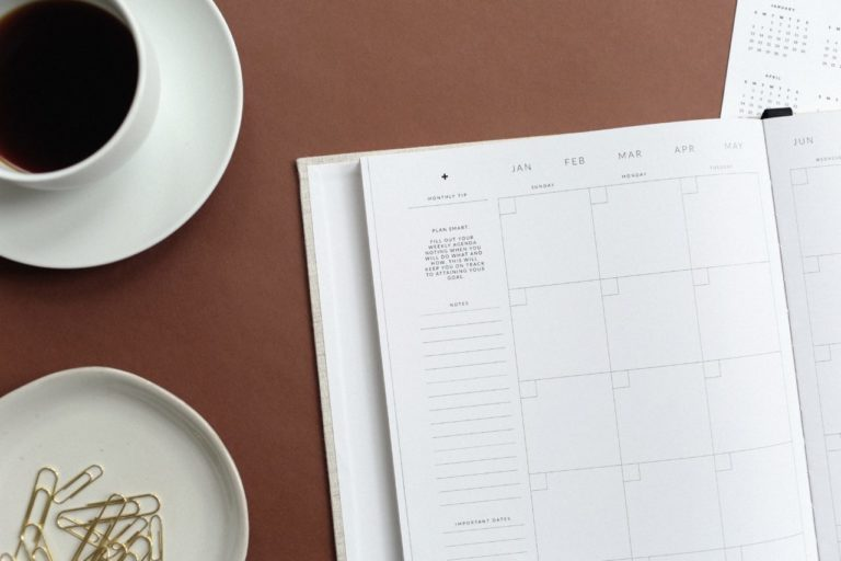 Journal Planner Teacup
