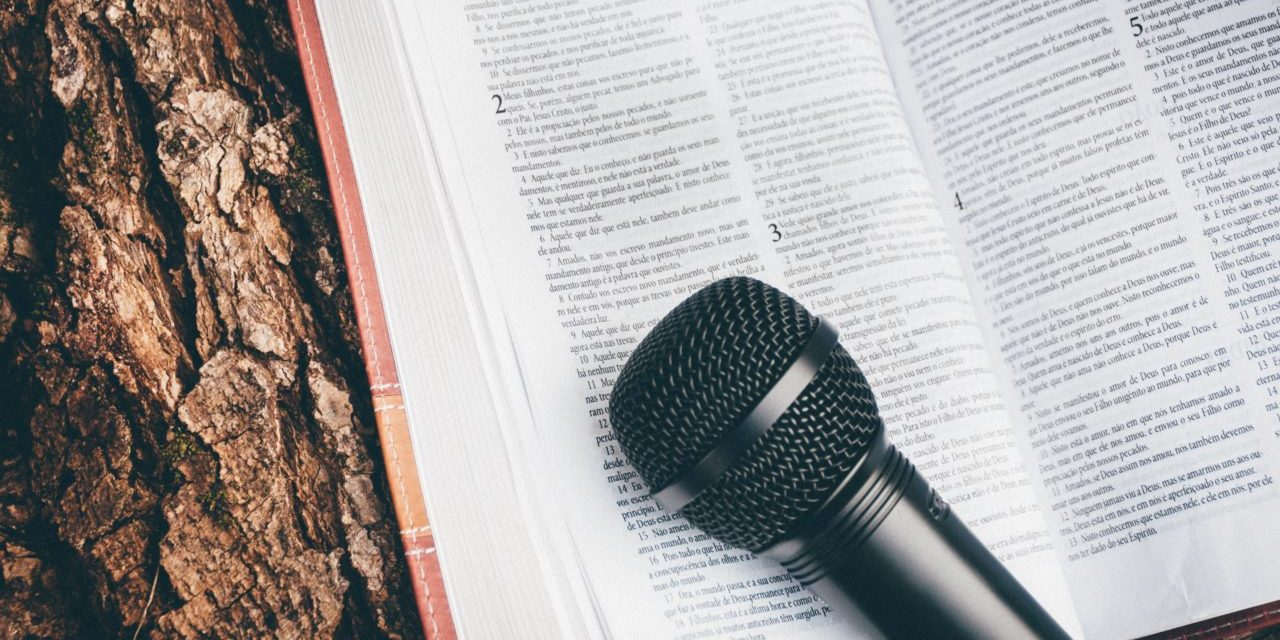 Microphone On Book