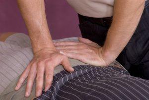 Patient Receiving Drop Table Technique Treatment