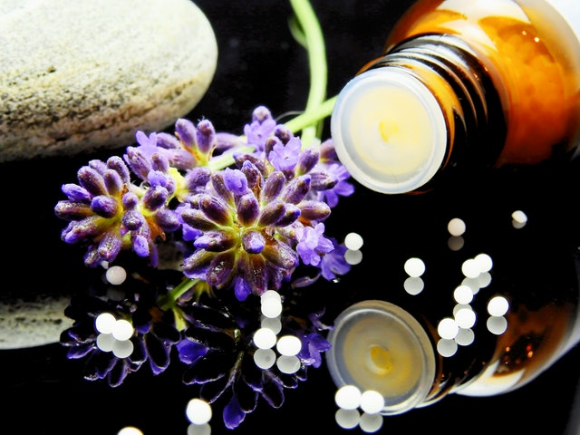 Homeopathy flowers