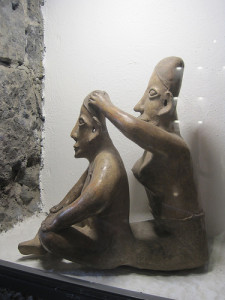 Ancient Craniosacral Therapy Statue